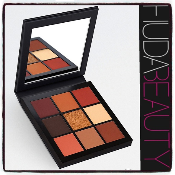 HUDA BEAUTY Other - HUDA Obsessions Eyeshadow Palette Warm Brown glam